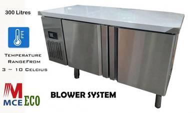 2 Door Counter Chiller Kitchen (Blower System)