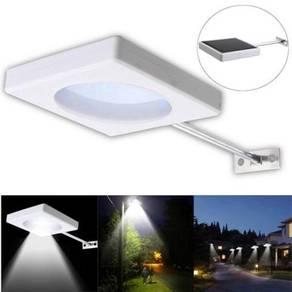 New 5W LED Solar Wall Light W/proof Outdoor Street