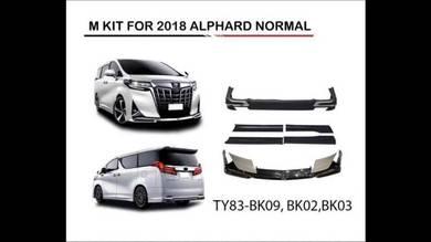 Toyota alphard vellfire 2019 modellista bodykit 6