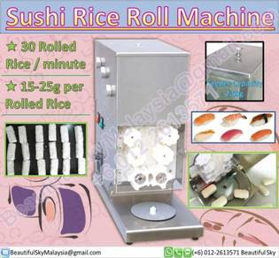 Sushi Rice Roll Nigiri Machine Sashimi Mesin Video