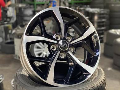 Ori 17 Perodua Aruz Rim Innova Camry Preve Inspira