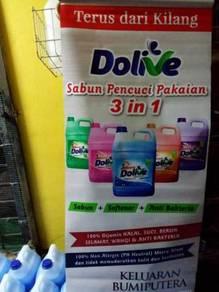 Sabun pencuci pakaian 3 in 1