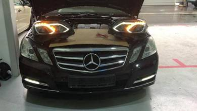 Mercedes w212 facelift amg e63 style conversion