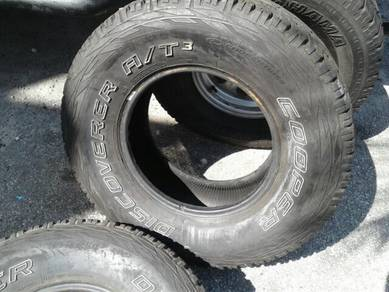 Cooper Discovery T3 . 265x70xR15 3tyres only