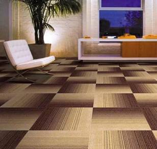 Blazed brown Carpet tile for great offer