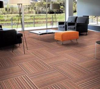 Orange Carpet tile for great offer