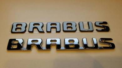 Brabus Logo Emblem Badge For Rear Trunk Bonnet