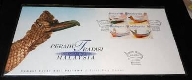 FDC Perahu Tradisi Malaysia 2000