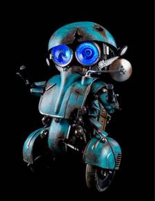 Hasbro Autobot Sqweeks 8 inch toy figure