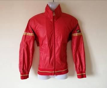 Vintage Nike Blue Tag Windbreaker Jacket Red