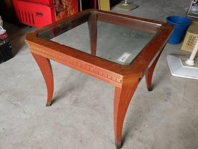 Jati Teakwood Square Side Coffee Table L2.5' * M51