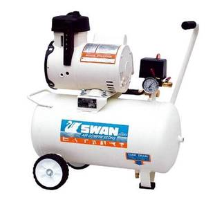 Swan Oil Less Air Compressor 1.5HP