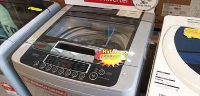 New LG 8.0kg S-inverter Washing Machine T2018VSPM