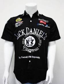 Short-sleeved shirts polo Overalls men's F1