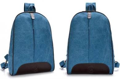 DeMartino Stylish Dual Use Bag Backpack - Blue