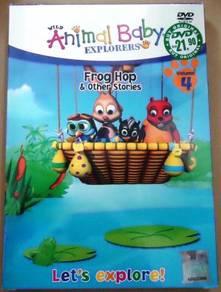 DVD Animals baby EXplorers Frog Hop & Other Storie