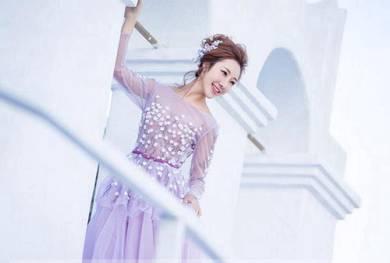 Purple wedding prom dress gown photoshoot RB0488