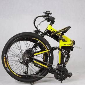 Attractive, Full suspension Folding Electric bike