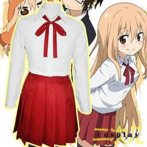 Umaru cosplay school uniform