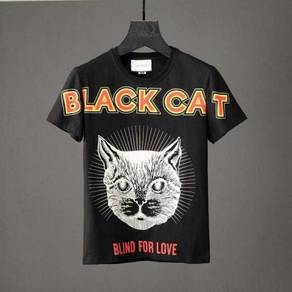 BLACK CAT GUCC T-Shirt