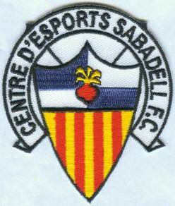 Centre d'Esports CE Sabadell Spain Football Patch
