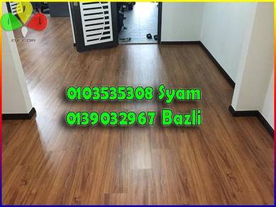Papan Lantai Deco Laminte floor T Vinyl floor 3mm