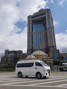 Kota kinabalu Van rental charter sewa tour travel