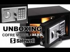 SAFEWELL Non-Fire Resistant Digital Safe Box