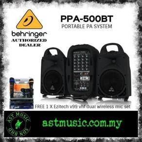 Behringer Europort PPA500BT PPA-500BT PA System