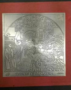 Selangor Pewter Crafted Dances Of Malaysia (MAS)