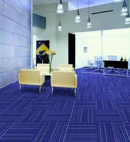 Fresh blue Carpet tile for great offer