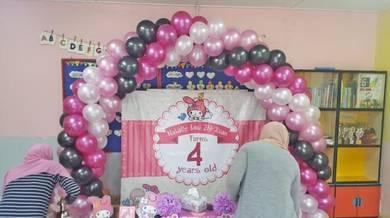 524) Birthday Or Wedding Deco