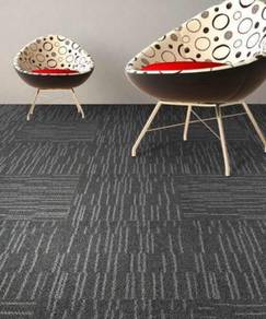 Waved dark grey Carpet tile for great offer