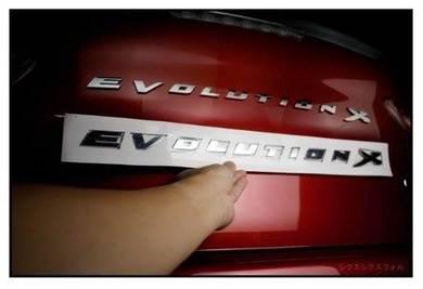 Lancer Evolution X Logo Emblem