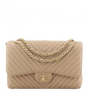 Chanel Classic Double Flap Jumbo Chevron