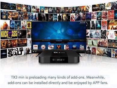ANDROID TV BOX IPTV FullHD Loaded