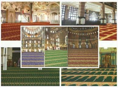 Bekal&pasang karpet pejabat / masjid /nr8