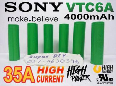 SONY VTC6A 21700 3.7V 4000mAh 35A Li-ion battery