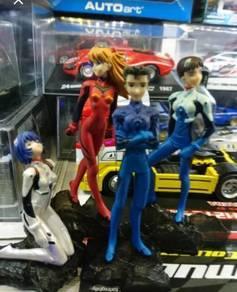 Evangelion Neon Genesis figures