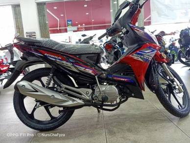 Modenas kriss 110 with disc brake new model 2020