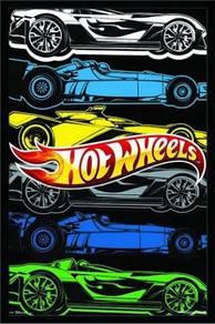 Hot wheels poster