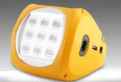 Rechargeable Solar panel camping light