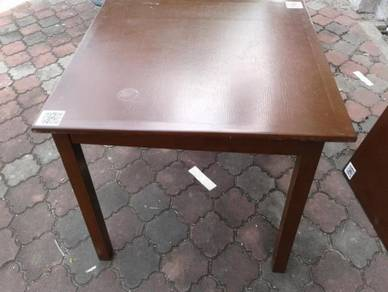 Brown Solid Wood Square Dinning Table TA397