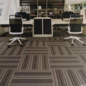 Milky grey Carpet tile for great offer