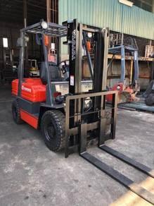 Japan Import TOYOTA Forklift 2.5 Ton 5 Series Auto