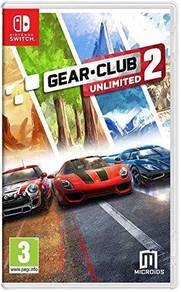 Nintendo Switch : Gear Club Unlimited 2