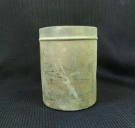 Vintage container (Made of Aluminum)