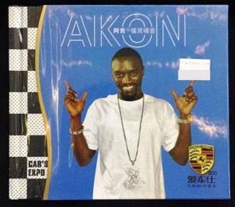 IMPORTED CD AKON Greatest Hits 3CD