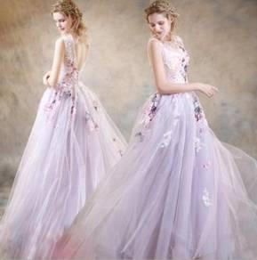 Purple wedding prom dress gown photoshoot RB0493