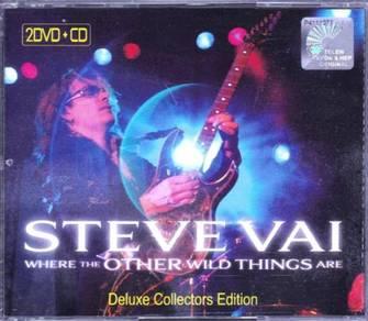 STEVE VAI Live in Minneapolis 2DVD+CD